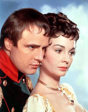 Jean Simmons: Marlon Brando and Jean Simmons in Desiree, 1954