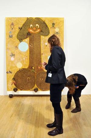 Chris Ofili Tate Britain: Chris Ofili exhibition at Tate Britain, London, Britain - 25 Jan 2010