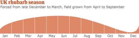 UK rhubarb season