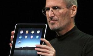 Apple iPad and Steve Jobs