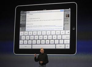 Apple ipad: Apple CEO Steve Jobs launches the new ipad