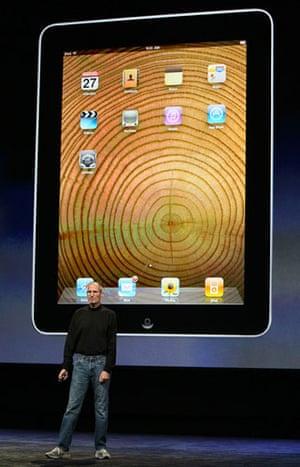 Apple ipad: Apple CEO Steve Jobs launches the ipad