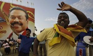Sri Lankans celebrate presidential election 2010