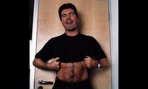 Simon Cowell poses for American Pop Idol