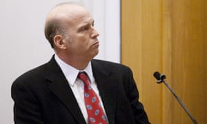 Scott Roeder at his trial for the murder of abortion doctor George Tiller
