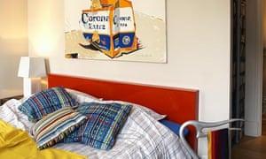 Colur flat bedroom