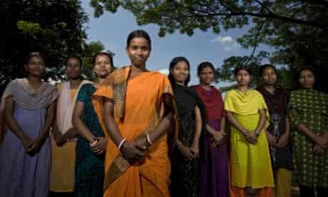 Young Bangladeshi women