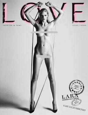 Love magazine –Lara Stone