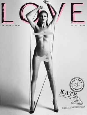 Love magazine – Kate Moss