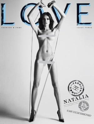 Love magazine –Natalia Vodianova