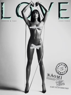 Love magazine – Naomi Campbell