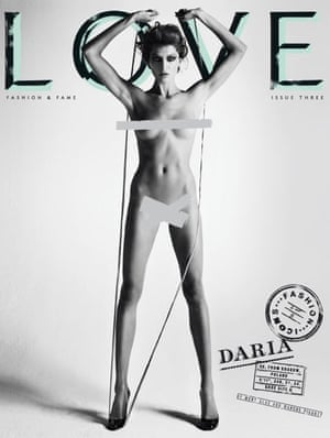Love magazine –Daria Werbowy