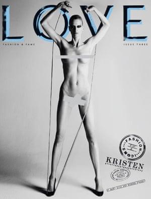 Love magazine –Kristen McMenamy