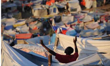 Port-au-Prince homeless