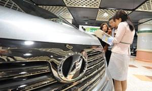 Toyota dealership in Tokyo