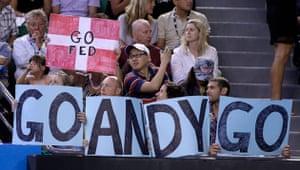 Murray v Federer: Murray v Federer