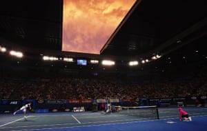 Murray v Federer: 2010 Australian Open - Day 14