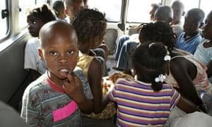 Children suspected of being involved in an illicit adoption scheme