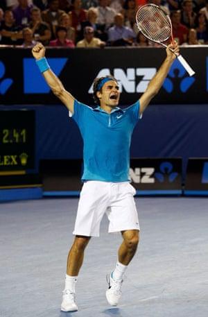 Murray v Federer: Roger Federer