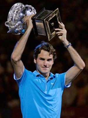 Murray v Federer: federer