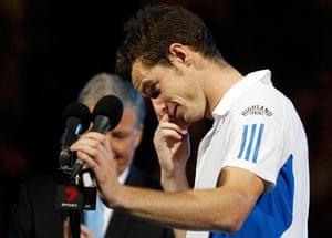 Murray v Federer: federer v murray