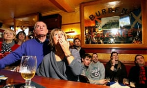 Andy Murray fans live every point of their hero's match with Roger Federer at The Dunblane Hotel