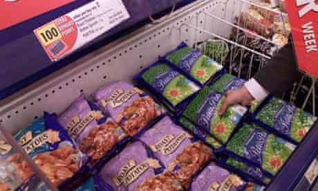 supermarket freezer