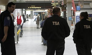 TSA agents at Pittsburgh international airport