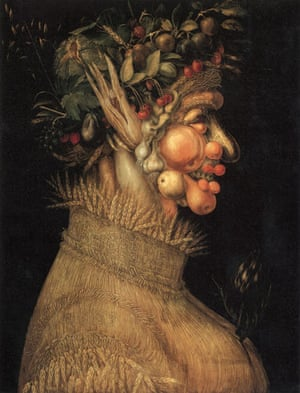 Visual History of Cooking: Summer, by Giuseppe Arcimboldo