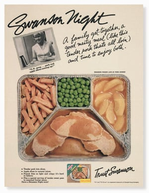 Visual History of Cooking: Advert for original maker of the TV Dinner, Swanson