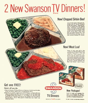 Visual History of Cooking: advertisements from the original maker of the TV Dinner, Swanson