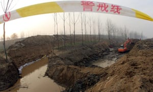 Pipeline in Huaxian county in north-west China's Shaanxi province