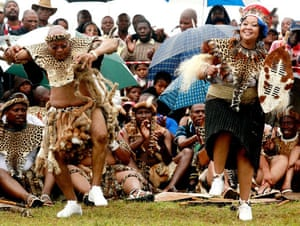 Jacob Zuma gets married: President Jacob Zuma with Thobeka Madiba at their wedding