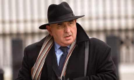 Sir William Patey arrives to give evidence to the Chilcot inquiry into the Iraq war on 5 Jan 2010