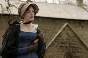 Writers in films: Anne Hathaway in the film Becoming Jane