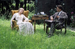 Writers in films: Johnny Depp as JM Barrie in the film Finding Neverland