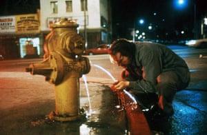 Writers in films: Mickey Rourke as Charles Bukowski in the film Barfly