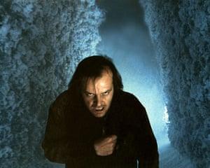Writers in films: Jack Nicholson in The Shining