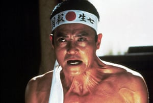 Writers in films: Ken Ogata as Yukio Mishima in the film Mishima: A Life In Four Chapters