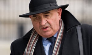 Sir William Patey arrives to give evidence at the Chilcot inquiry into the Iraq war.