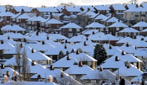 Winter weather: Denton, near Newcastle upon Tyne, 6 January: The big freeze continues