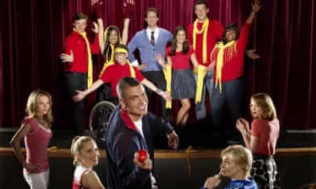 Glee cast shot