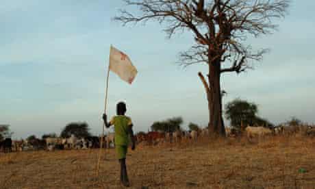 A Dinka boy from Warrap state, Sudan