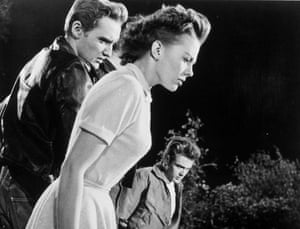 Dennis Hopper: Rebel Without A Cause, 1955, Dennis Hopper with Natalie Wood and James Dean