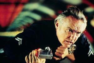 Dennis Hopper: Dennis Hopper in the film Speed, 1994