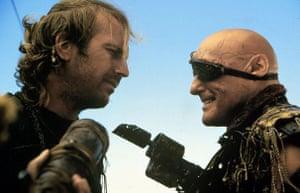 Dennis Hopper: Kevin Costner And Dennis Hopper in Waterworld, 1995