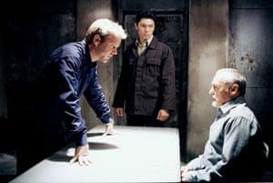 Dennis Hopper: Kiefer Sutherland and Dennis Hopper in Season 1 of 24, 2002