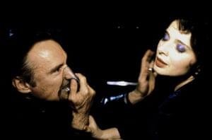 Dennis Hopper: Dennis Hopper and Isabella Rossellini in Blue Velvet, 1986