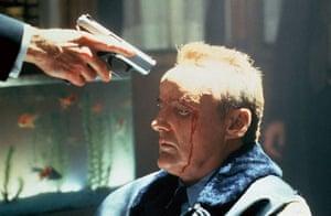 Dennis Hopper: Dennis Hopper in the film True Romance, 1993, directed by Tony Scott