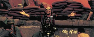 Dennis Hopper: Dennis Hopper in Apocalypse Now, 1979, directed by Francis Ford Coppola